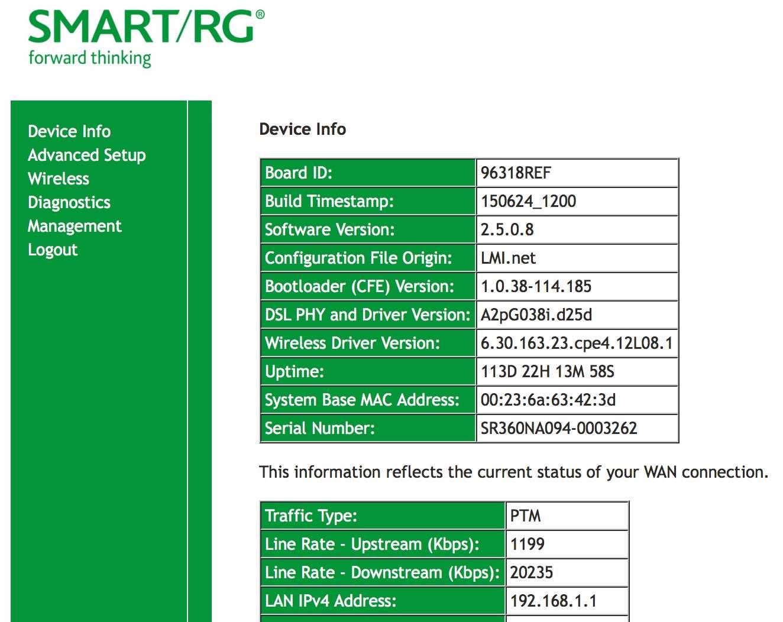 how to change wifi password smart rg